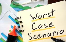 Notebook that reads worst case scenario
